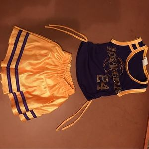 Other - Lakers Cheer Outfit